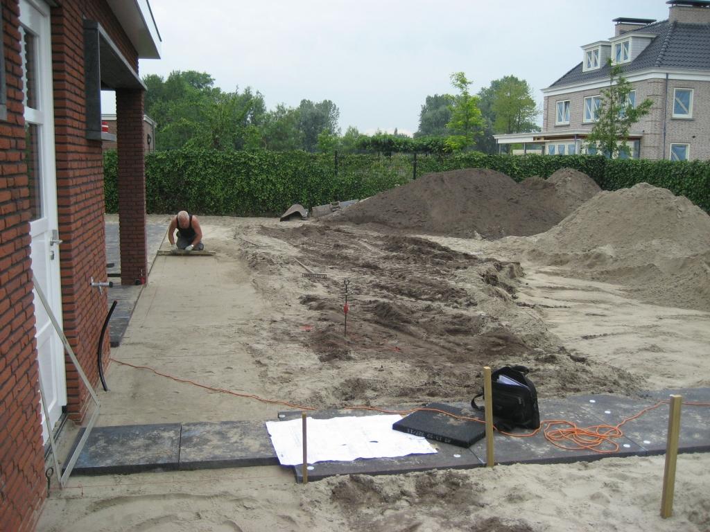 zandbed maken (Cunet)